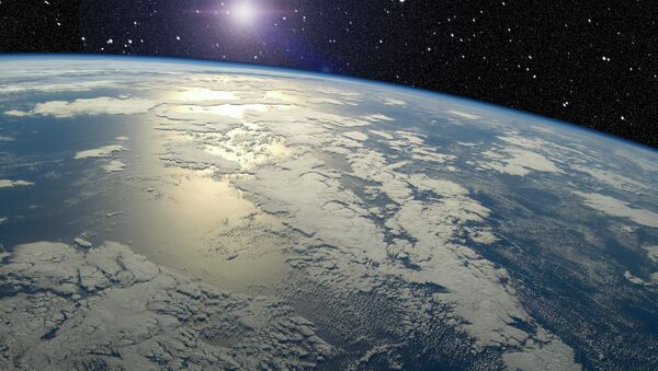 View of earth horizon from space - Sputnik France