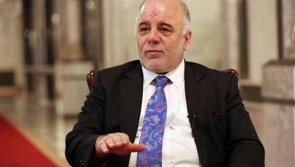 Iraq's Prime Minister Haider al-Abadi - Sputnik France