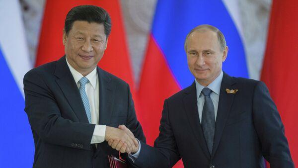 Les présidents chinois et russe, Xi Jinping et Vladimir Poutine - Sputnik France
