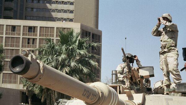 Un soldat américain en Irak (Archives) - Sputnik France