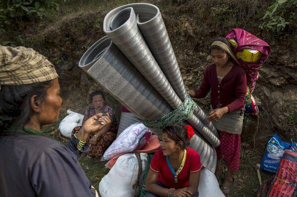 Népal: la vie au milieu des ruines - Sputnik France