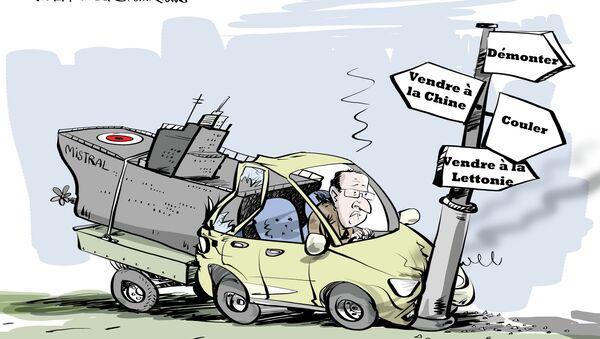 Mistral russes: Hollande en panne d'idées - Sputnik France