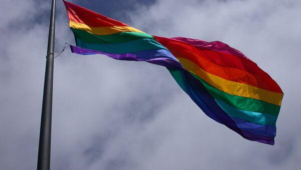Drapeau gay - Sputnik France