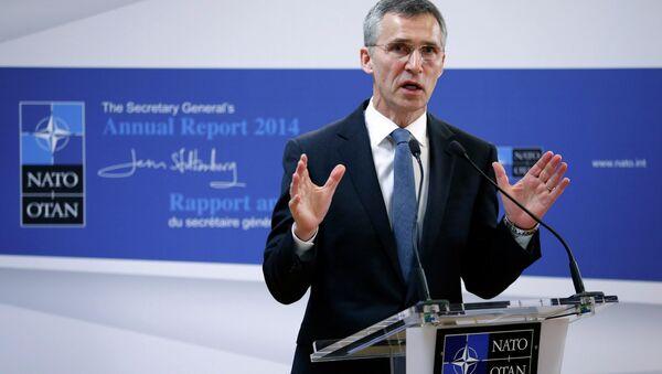 Jens Stoltenberg, secretario general de la OTAN - Sputnik France