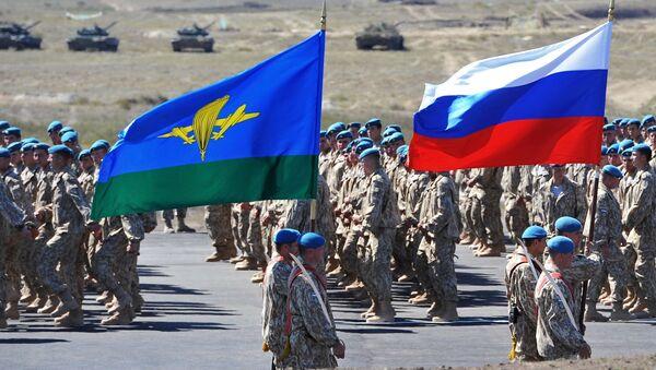 Interaction 2014 CSTO CRRF military drill in Kazakhstan - Sputnik France