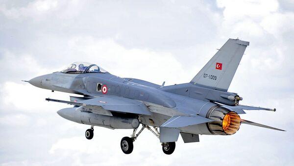 Le F-16 de l'armée de l'air turque - Sputnik France