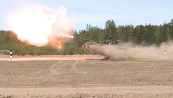 Le char volant T-80 - Sputnik France