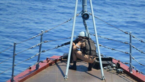 Exercice russo-chinois en Méditerranée - Sputnik France