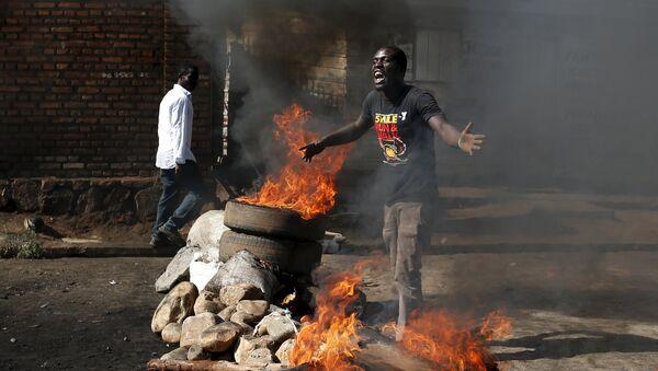 protestations organisées à Bujumbura - Sputnik France