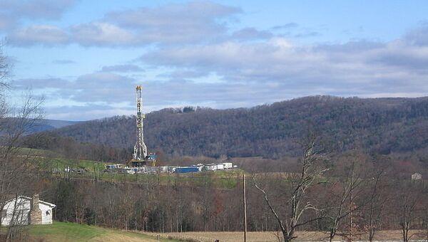 Буровая на месторождении сланцевого газа в Пенсильвании (США) - Sputnik France