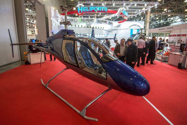 Salon HeliRussia: innovations russes et étrangères - Sputnik France