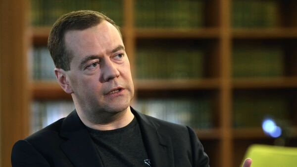Dmitri Medvedev, chef du gouvernement de Russie - Sputnik France