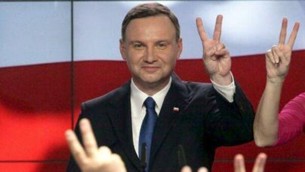 Andrzej Duda - Sputnik France