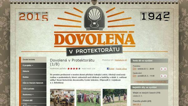 La téléréalité tchèque Dovolena v Protektoratu - Sputnik France