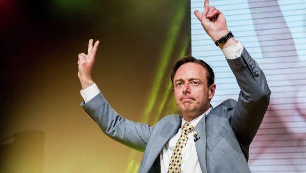 The leader of the NVA (New Flemish Alliance) Bart De Wever - Sputnik France