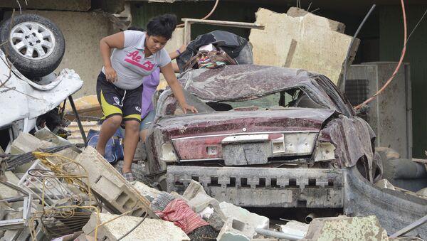 Une ville mexicaine ravagée par une tornade en six secondes - Sputnik France