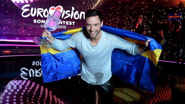 Mans Zelmerlow (Suède), vainqueur de l'Eurovision 2015 - Sputnik France