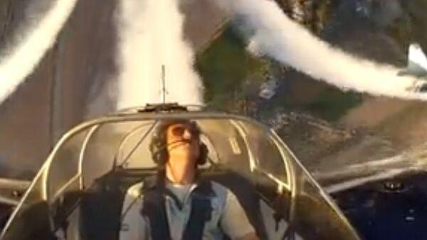 Vue fantastique lors d'un vol acrobatique - Sputnik France