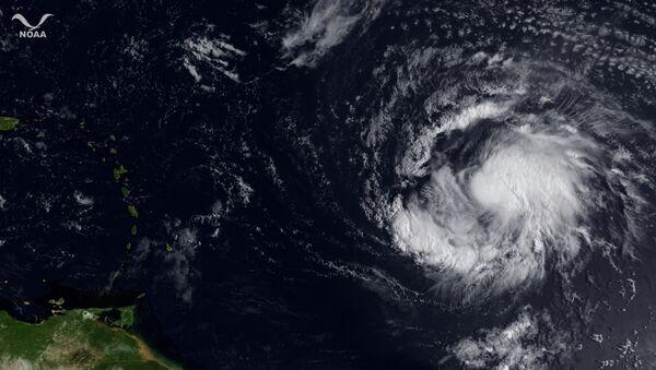 Тропический шторм Катя над Атлантикой 1 сентября 2011 - Sputnik France