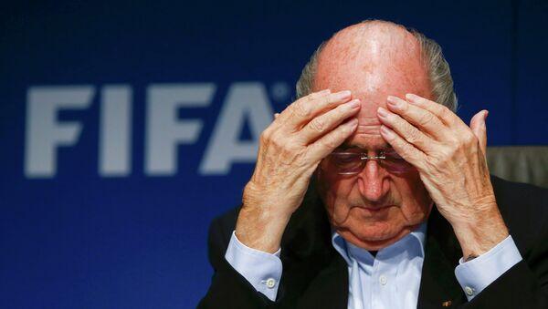 Joseph Blatter, président de la FIFA - Sputnik France