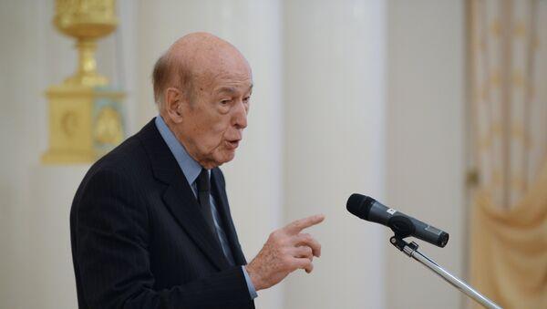 Giscard d'Estaing - Sputnik France