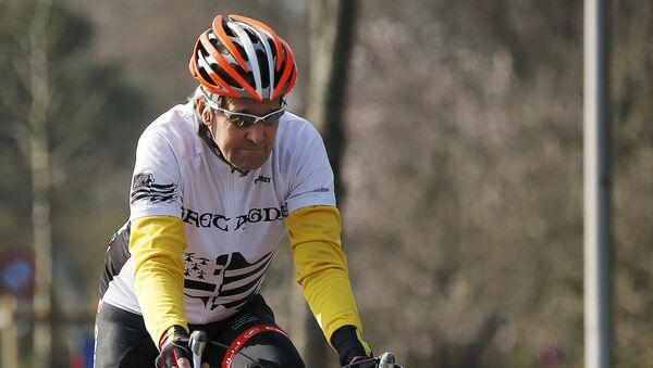 John Kerry fait du vélo au bord du lac Léman - Sputnik France