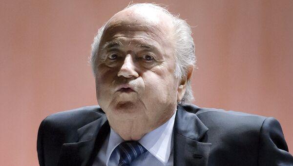 Sepp Blatter - Sputnik France