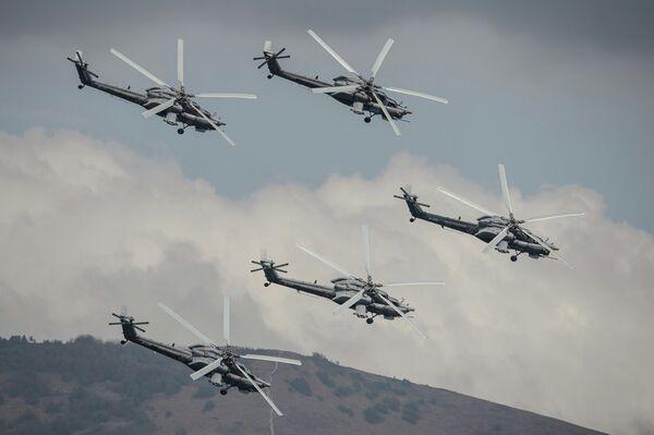 Patrouille aérienne russe Berkouty - Sputnik France