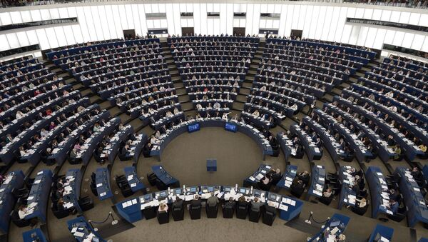 Members of the European Parliament take part in a voting session at the European Parliament - Sputnik France