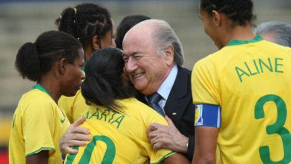 FIFA: Joseph Blatter jette l'éponge - Sputnik France