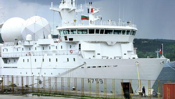 Navire collecteur de renseignements français Dupuy-de-Lôme - Sputnik France