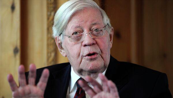Former German Chancellor Helmut Schmidt - Sputnik France