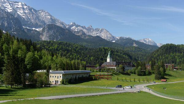 Les montagnes prés de Garmisch-Partenkirchen - Sputnik France
