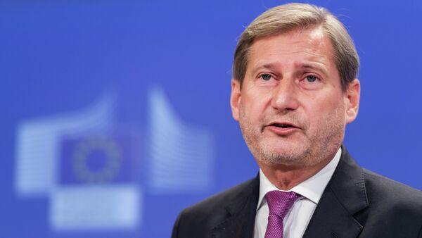 Johannes Hahn, Commissaire à l'élargissement et à la politique européenne de voisinage de l'UE - Sputnik France
