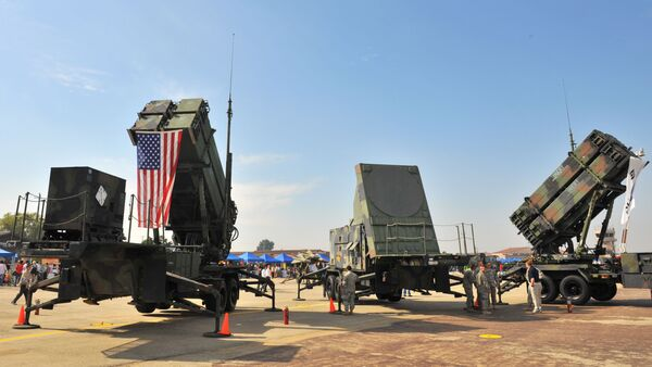 A US Army's Patriot Surface-to Air missile system - Sputnik France