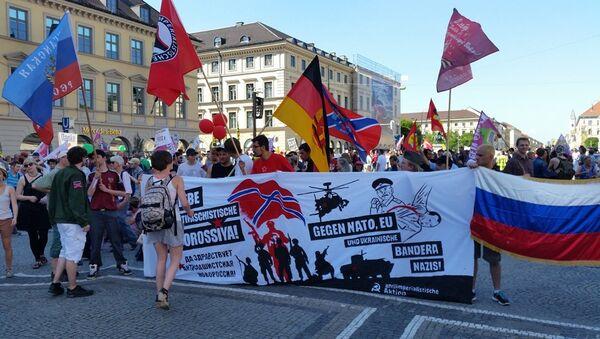 Grande manifestation contre le G7 à Munich - Sputnik France