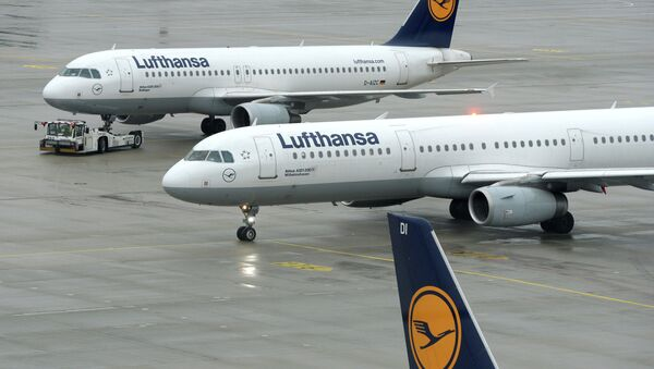 La compagnie aérienne Lufthansa - Sputnik France