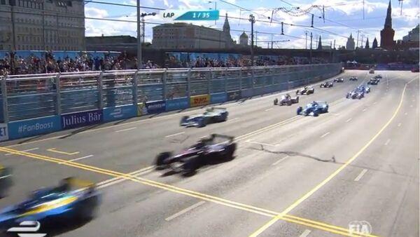 Formule E au centre de Moscou - Sputnik France