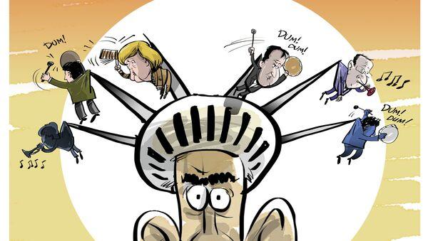 G7: on s'amuse bien en Bavière - Sputnik France