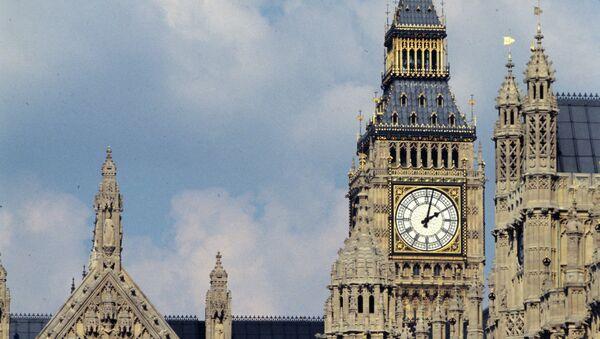 Вестминстерский дворец - здание на берегу Темзы в лондонском районе Вестминстер, где проходят заседания Британского парламента - Sputnik France
