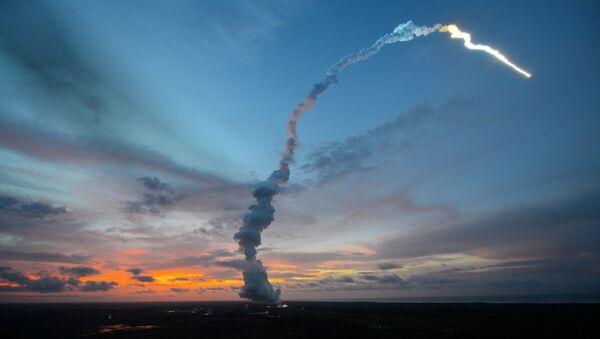 Liftoff of Ariane 5 with ATV-4 - Sputnik France