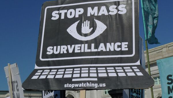 Rally and March in Washington DC Against Mass Surveillance - Sputnik France