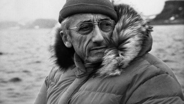 Jacques-Yves Cousteau, homme qui a fait découvrir le Monde du silence - Sputnik France