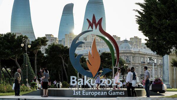 Bakou, capitale d'Azerbaïdjan, accueille les premiers jeux continentaux de l'histoire en Europe - Sputnik France