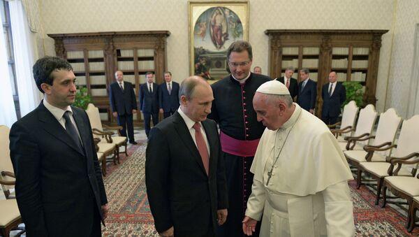 Визит президента РФ В.Путина в Италию - Sputnik France