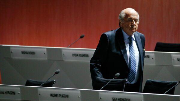 le président de la FIFA, Sepp Blatter - Sputnik France