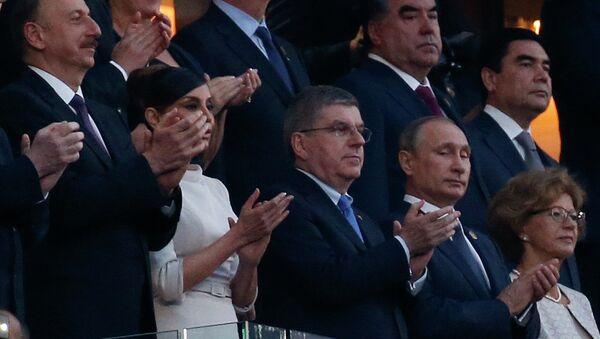 La cérémonie d'ouverture des Jeux européens, 2015 - Sputnik France