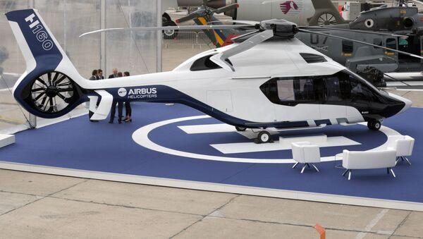 Hélicoptère Airbus H160 au Salon du Bourget - Sputnik France