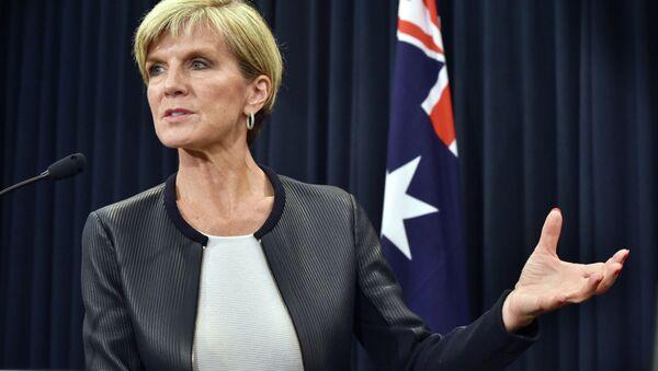 La chef de la diplomatie australienne, Julie Bishop - Sputnik France