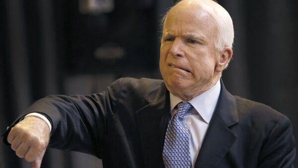 Le sénateur de l'Arizona John McCain - Sputnik France